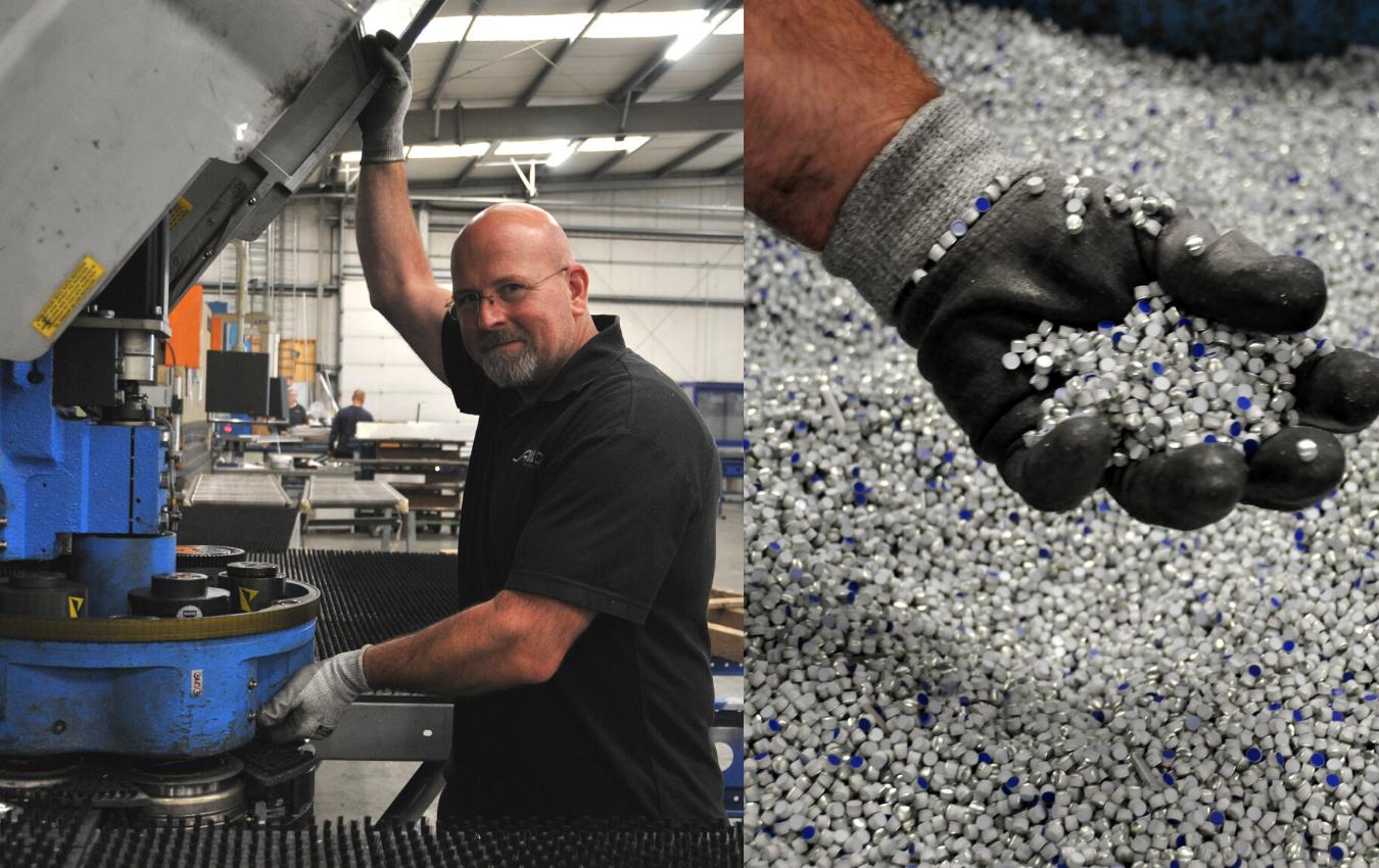 Allpro-jesper-ponsen-punch-machine-composite-waste-ponsnibbel-art-punch-expert-metal-aluminium