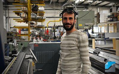 Even voorstellen: Wael – Operator aluminium composiet