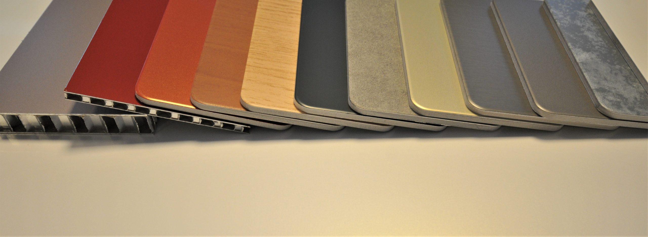 composiet-aluminium-honingraat-kleuren