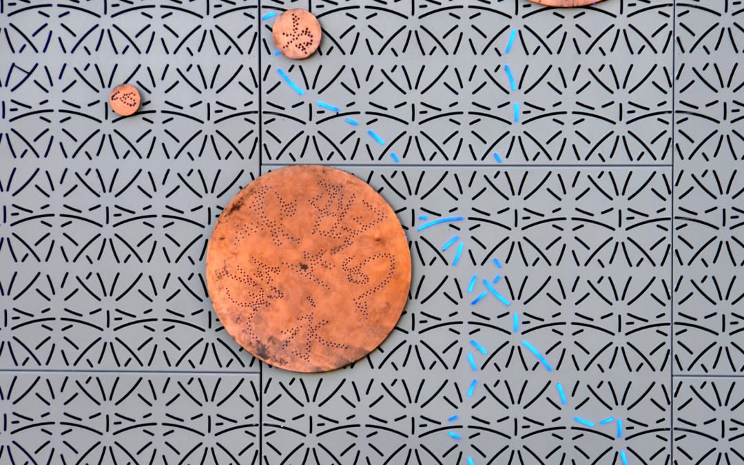 Bijzondere panelen met perforatie voor facade én interieur